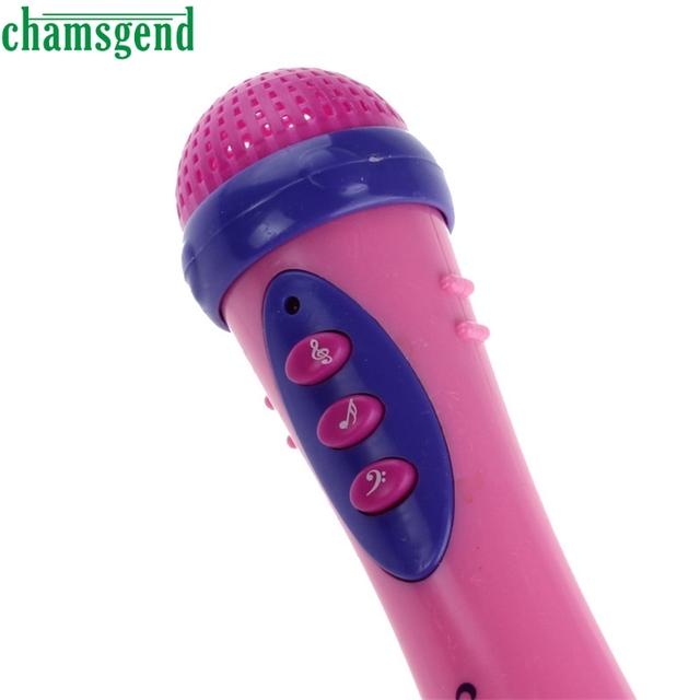 CHAMSGEND Best seller drop ship  Cute Girls Boys Microphone Mic Karaoke Singing Funny Gift Music Toy S25