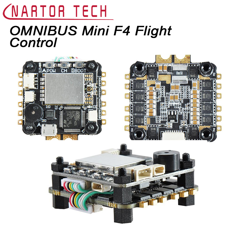 OMNIBUS Mini F4 Fly Tower Passing Machine Flight Control 4 in 1 30A ESC Integrated OSD 5.8G FPV Transmitter цепочки brosway ct05