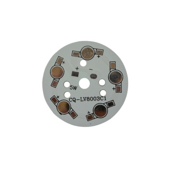 500X Wholesale 5W LED pcb aluminum base for 5W LED beads heat radiation express free shipping