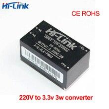 Livraison gratuite 2 pcs/lot 220 v à 3.3 v 3 w mini alimentation module dentrée 110 v 240 v intelligente ménage commutateur convertisseur de mode