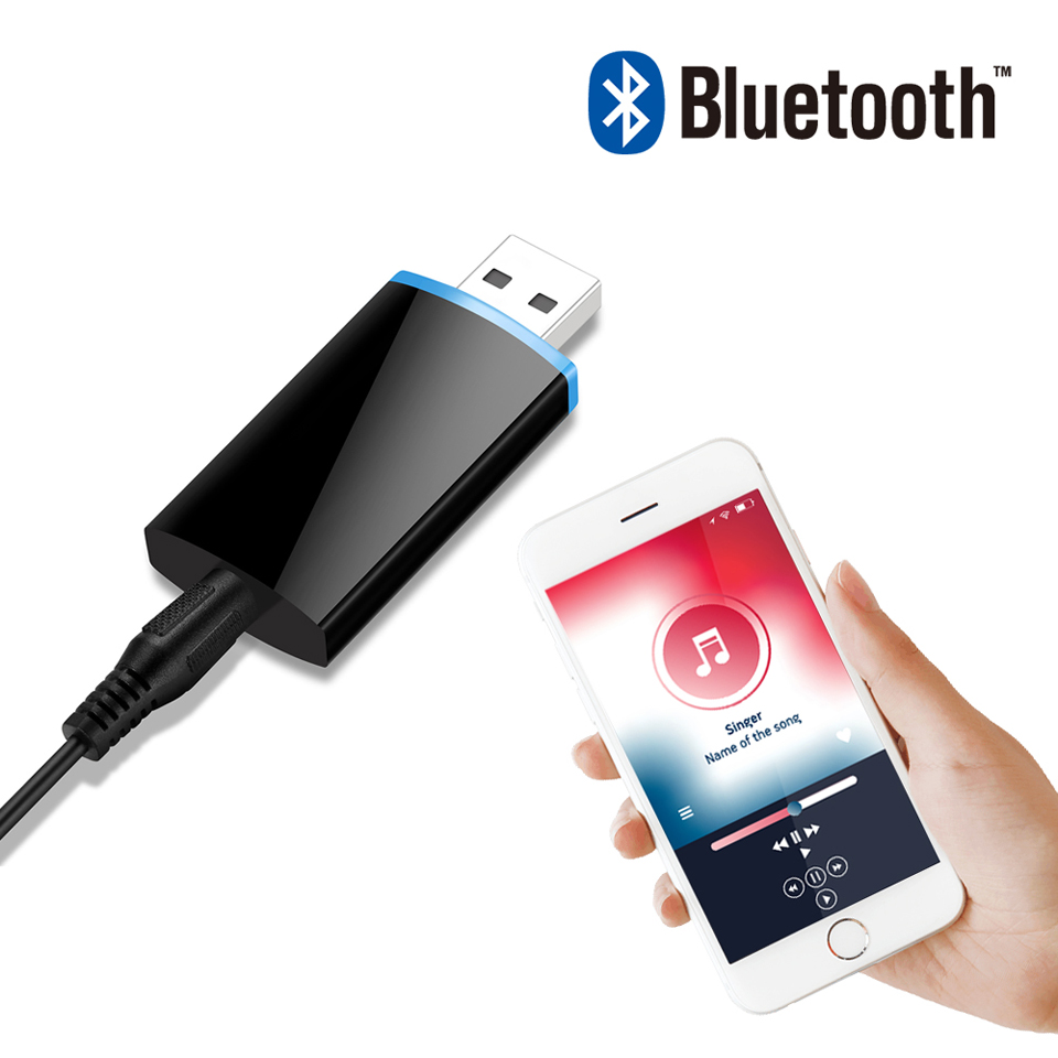 Bluetooth Audio Adapter Wireless Aux Receiver 4.1 Bluetooth Audio 3.5mm Jack For Home Stereos Speaker MP3 PSP Car Stereos Tablet