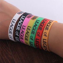 Fashion LOL Rubble Polsband Armband voor Vrouwen Armband man Anime Cosplay league legends Armband Sieraden Groothandel(China)
