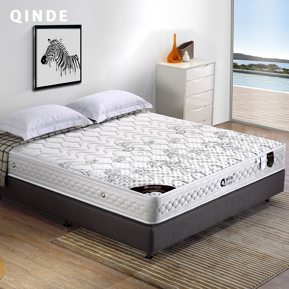 Qinde Furniture Queen Size Twin Hotel Apartments Bedroom