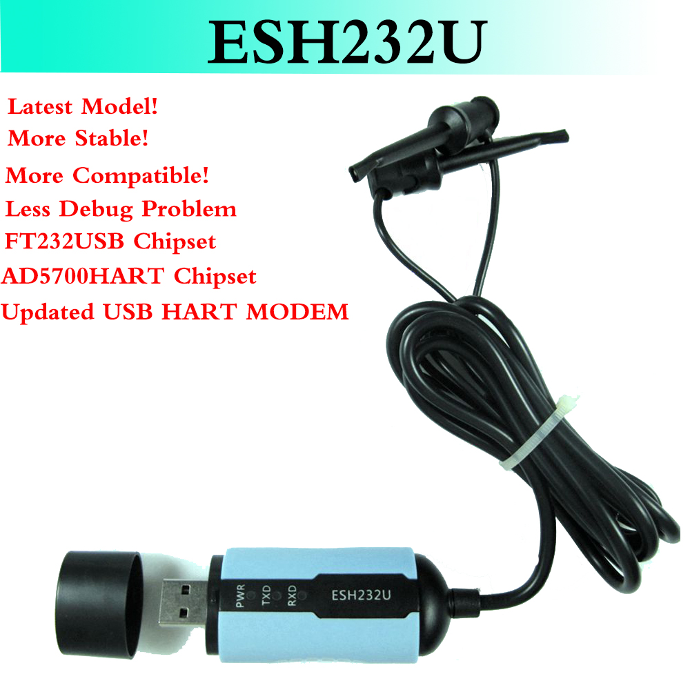 ESH232U USB Hart Modem USB Protocol Modem HART Signal Communicator Transmitter HART Convertor With Built-in Loop Resistor цена
