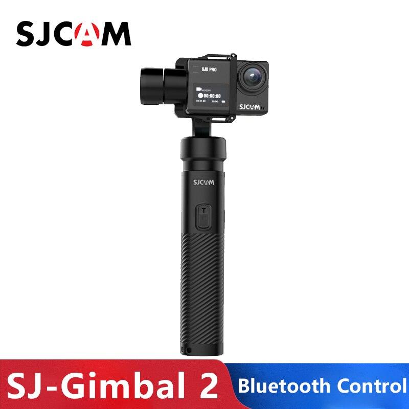 Original SJCAM cardan de poche 2 3 axes stabilisateur Bluetooth contrôle sj-cardan 2 pour SJ6 SJ7 SJ8 Pro/Plus/caméra d'action d'air