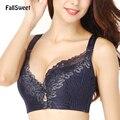 FallSweet D E taza de Encaje Push Up bra para Más Las Mujeres de talla 44 46 48 50 Mujeres Grandes Copa Bras sujetador