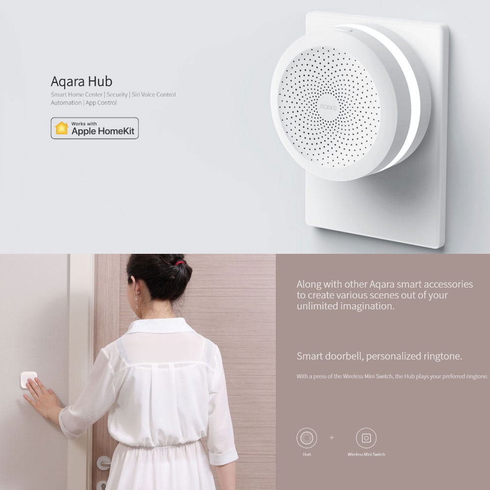 Consumer Electronics Xiao Mi Jia Aqara Center Of My Door With Rgb Led Smart Work Night Light With Apple Homekit New Edition Latest Technology Smart Home