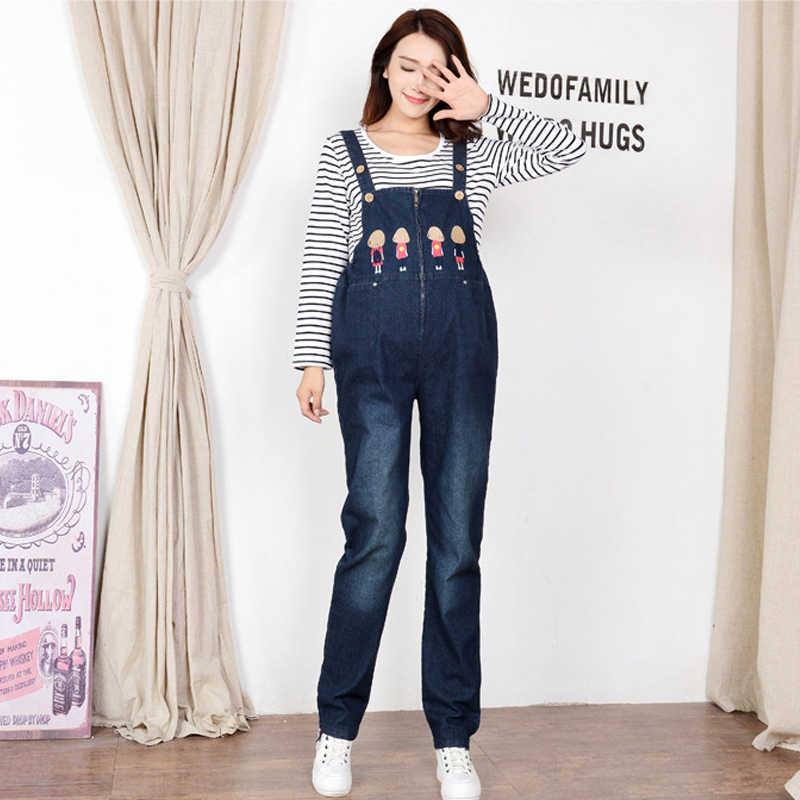 d9095b9a6d2 Female Pants Women s Jeans For Pregnant Women Maternity Overalls Denim  Trousers Autumn Winter Jumpsuit Pregnancy Clothes