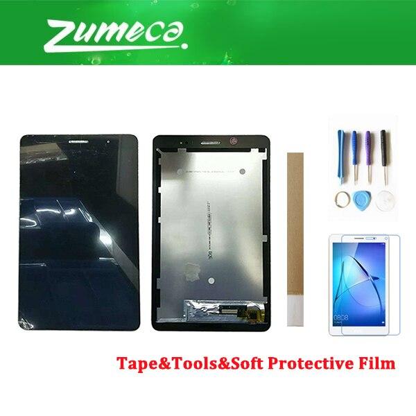 8.0 pouces pour Huawei MediaPad T3 8.0 KOB-L09 KOB-W09 écran LCD + écran tactile numériseur assemblée noir blanc avec Kits