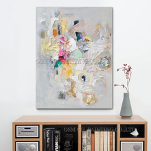 Wholesale New High Quality Hand Painted Abstract Living Room Wall Decoration Modern Art Painting On Canvas