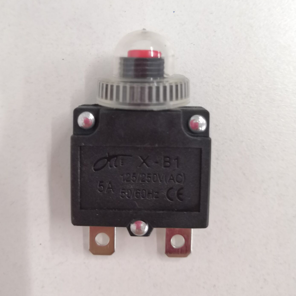 Resettable 5//10//15//20A Overload Switch Protector Circuit Breaker Reset Button