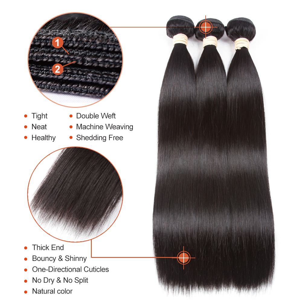 Sapphire Malaysian Body Wave Remy Human Hair 360 Lace Frontal With - Hair Salon Supply - Photo 3