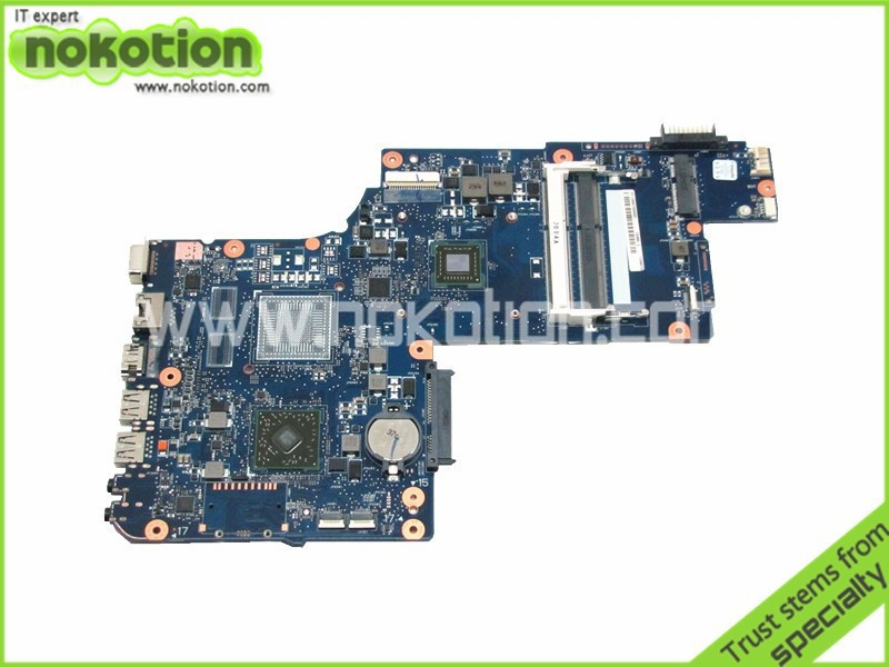 NOKOTION Laptop motherboard For Toshiba Satellite C870D L870D Processor onboard ddr3 H000043610 Mainboard x86 platform smallest motherboard with atom n550 processor onboard ddr3 2gb memory