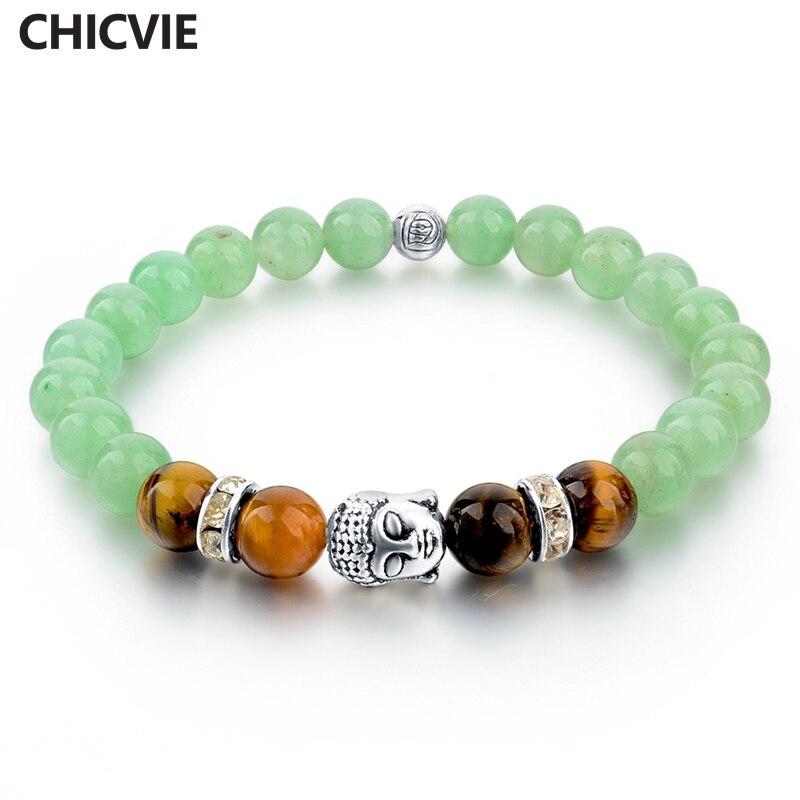 Купить женский браслет в виде будды из тибетского серебра с цепочкой