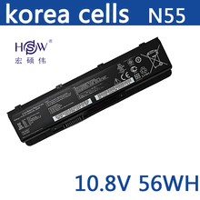 NEW Genuine Original battery FOR ASUS A32-N55 07G016HY1875 N45 N45E N45S N45F N45J N45JC N45SJ N45SN N45SF N45SL bateria akku hsw 6cells rechargeable laptop battery for a32 n55 07g016hy1875 n45 n45e n45s n45f n45j n55 n55e n55s n75 n75e n75s bateria akku