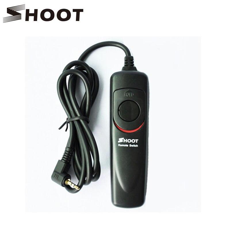 POUSSE RS-60E3 Déclencheur À Distance Cordon De Contrôle pour Canon EOS 650D/600D/550D/500D/1000D/450D/400D/350D/300D/700D Rebel