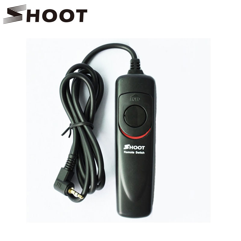 SHOOT RS-60E3 Shutter Release Remote Control Cord for Canon EOS 650D/600D/550D/500D/1000D/450D/400D/350D/300D/700D Rebel
