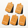 New Body Healthy Massage & Relaxation Useful Safe Replacement Electrode Tens Units Pads for Massagers  5 Pairs=10 Pcs