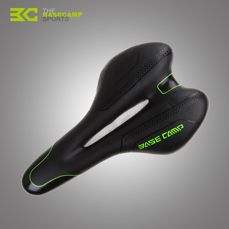 ФОТО BaseCamp brand pro 3D Silica gel Cycling Bicycle Mountain Road MTB Ride Racing Cushion Seat Bike Saddle Mat Ergonomically BC-667