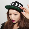 2014 New Fashion  KKXX Stylenanda Baseball Caps  Flat Brim Embroidery Sun-shading Caps Hip Hop Caps 56-60cm Hats