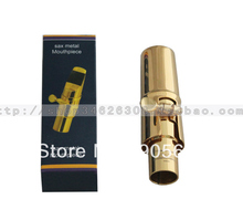 Gold plated Mouthpiece Fit for Tenor Saxophone Sax Size #6
