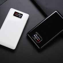 C9 Free Welding Power Bank Shell LCD Screen Digital Display Power Bank Charger Module DIY Kits Powered By 6x 18650 Battery