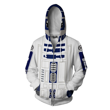 Movie-Star-Wars-robot-R2-Sweatshirts-Cosplay-Costumes-Autumn-Kids-men-and-women-anime-3D-Printing