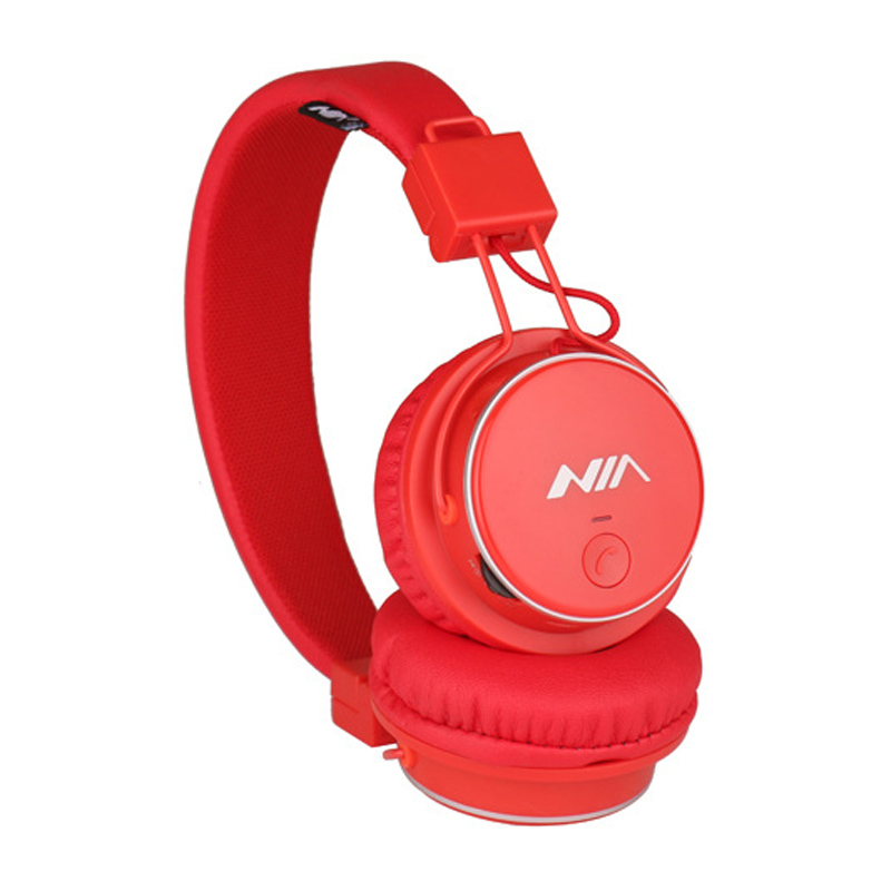 Hottest Nia Q8 Stereo Bluetooth Headphone Wireless Sport Foldable Headsets With Microphone Micro Sd Card Play Fm Radio Attractive Fashion Bluetooth Earphones & Headphones Earphones & Headphones