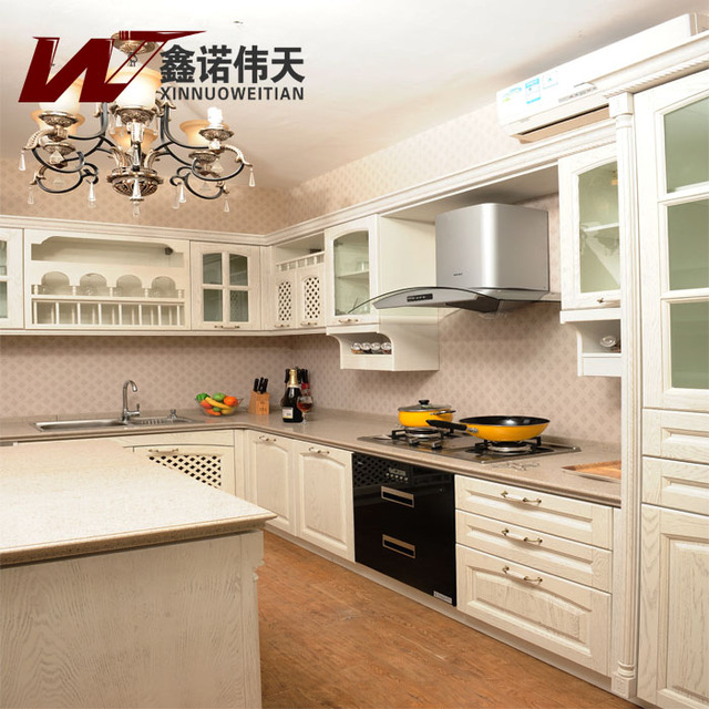 Us 5418 0 American Red Oak Solid Wood Kitchen Cabinet Customize Fashion Rustic Whole Kitchen Cabinets Customize In Kitchen Cabinets From Home