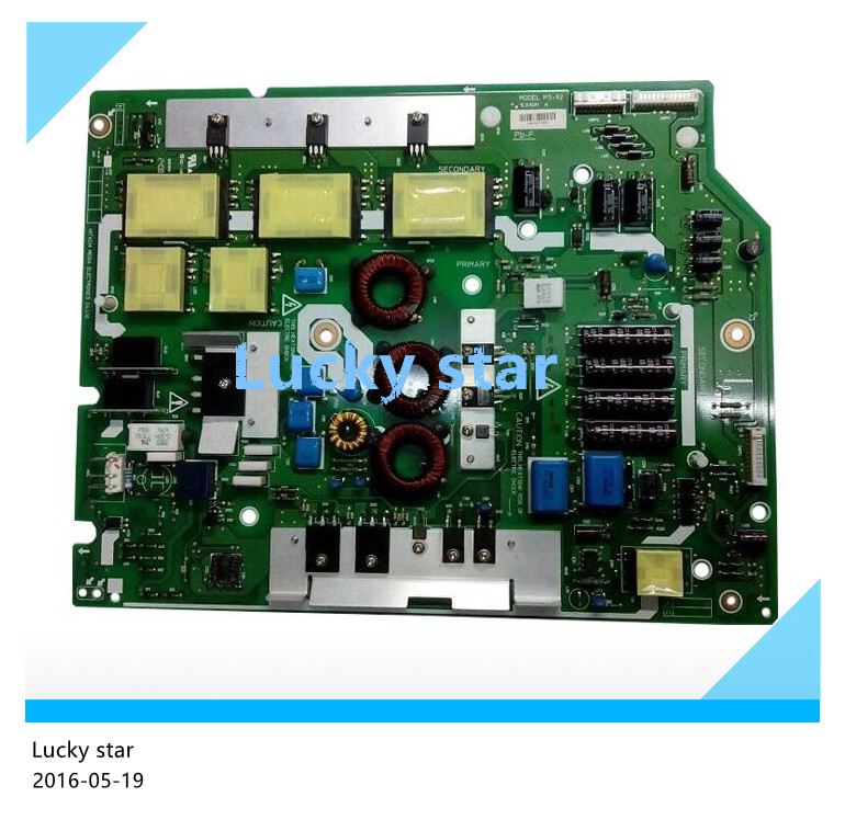 Original UT42-MX08CW power supply board MODEL PS-92 1CA1091 A