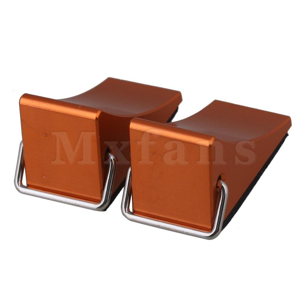 Mxfans 33x17x21 мм оранжевый Алюминий сплав fz0010 RC колесо битком остановить для багги ...