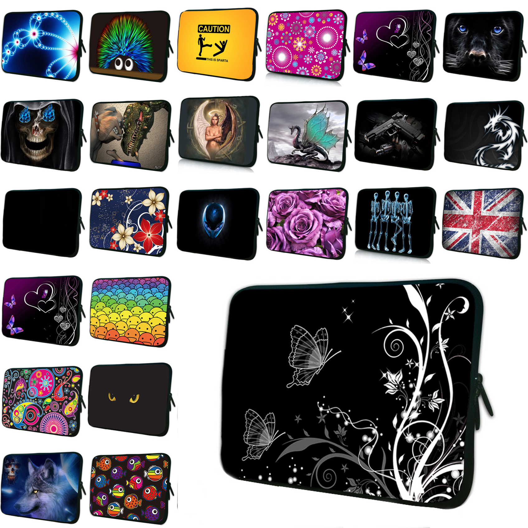 10 Mini PC Netbook Zipper Shell Cover Pouch Bag For Chuwi Hi10 Lenovo Apple Huawei 9.7 10.1 Chromebook Laptop Bags & Cases