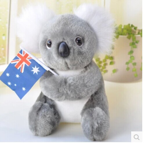 ୧ʕ ʔ୨22 Cm Mignon Koala Ours En Peluche Jouet Australie