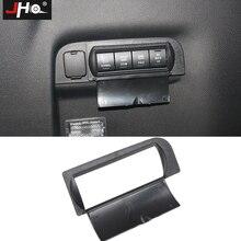 JHO ABS Защитный Кепки Крышка для задний багажник кнопки для Ford Explorer 2011- 2012 2013 автомобильные аксессуары