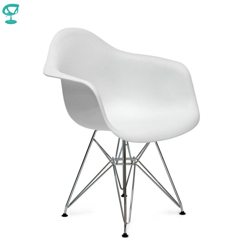 94915 Barneo N-14-14 Plastic Kitchen Breakfast Interior Stool Bar Chair Kitchen Furniture White Free Shipping In Russia