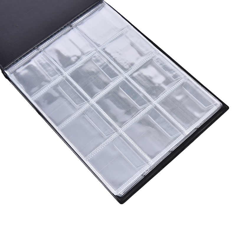 180 bolsos moedas álbum coleção livro mini moeda penny armazenamento álbum livro coleta de moeda suportes para colecionador presentes suprimentos