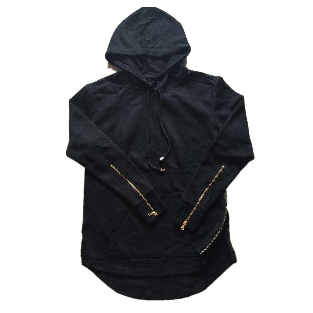 Hoodie Men Hoody Male Long Sleeve Side Zipper Arc Cut Mens Sweatshirt Men Hoodies Tracksuit Sweat Coat Casual Moleton Masculino