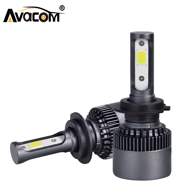 H1 H7 H11 LED Car Headlight Bulb 10000Lm 6500K White COB Chip LED H3 9005 9006 H8 H9 9012 Auto Light Ampoule LED Voiture