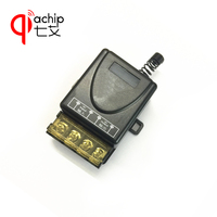 433Mhz Universal Wireless RF Remote Control Switch AC 220V 1CH 30A Relay Receiver And 2 Channel