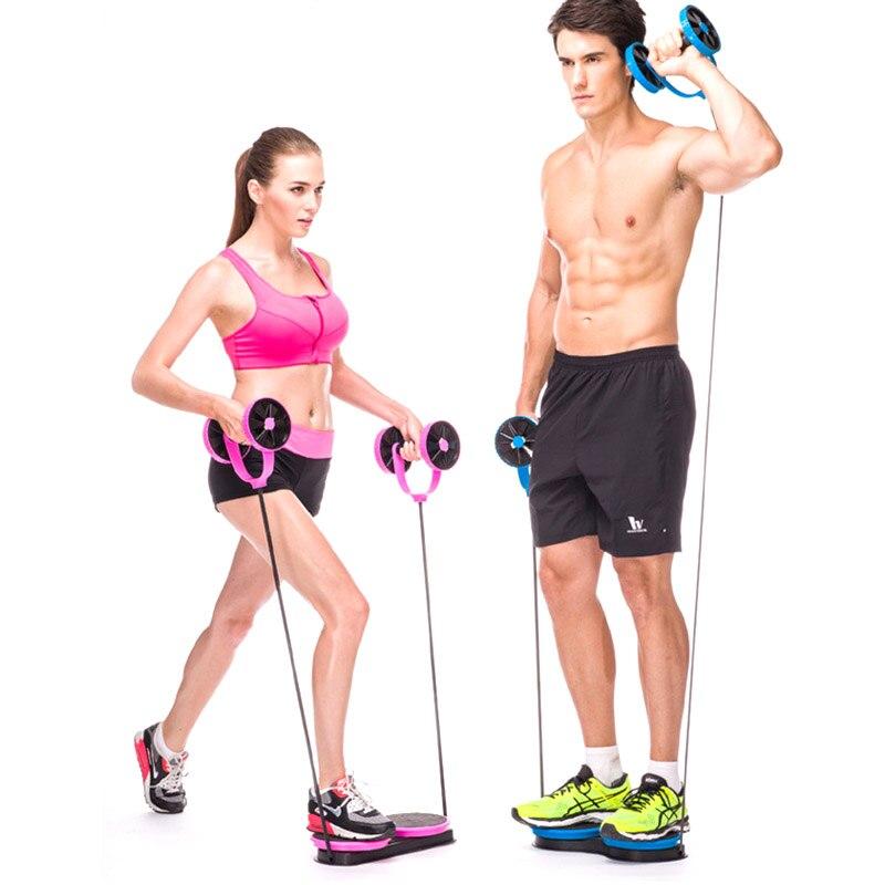 Rouleau de roue entraîneur Abdominal torsion roue taille Muscle formateur bras jambe Exercice Fitness SMN88
