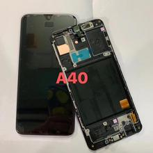 מקורי עבור Samsung Galaxy A40 SM A405F תצוגת lcd החלפת מסך עבור גלקסי A40 A405 A405F תצוגת lcd מסך
