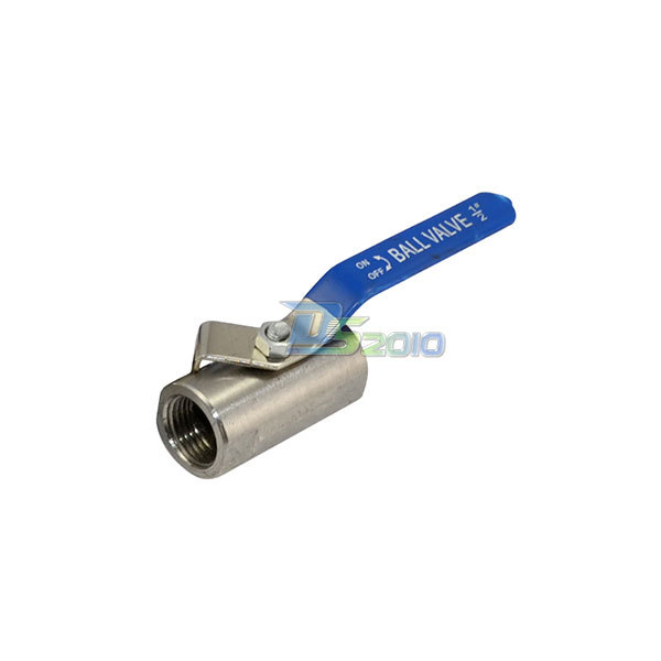 "1//2/"" 2/"" 3 Port Female T Type Ball Valve 316 Stainless Steel WOG1000 SS316 BSPT"