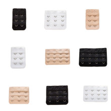 New Style Bra Buckle Back Extension Delicate Bra Lengthened Buckle 2 Rows ,3 Buckle/ 3 Rows, 4 Buckle Extension(China)