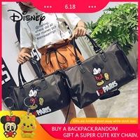 2019 Hot Large capacity Shoulder Bag Disney Backpack Mickey Mouse Women Bag Mickey Sequin Girl Portable Waterproof Duffel Bags