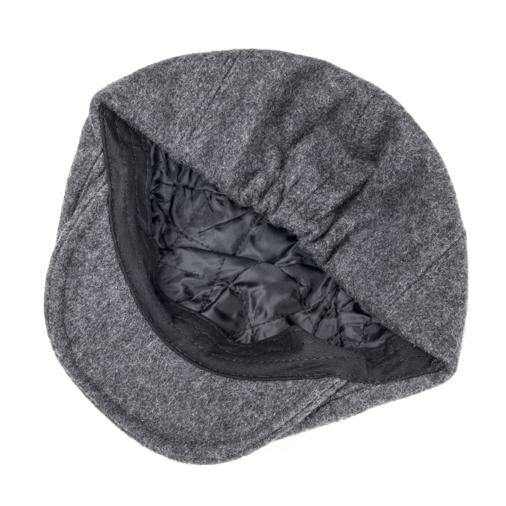 42a300d78bc Detail Feedback Questions about VOBOOM Woollen Tweed Mens Flat Cap ...