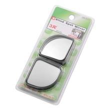 2 шт. зеркала заднего вида автомобиля Черный цвет автомобиля слепое пятно самолета автомобиля зеркало