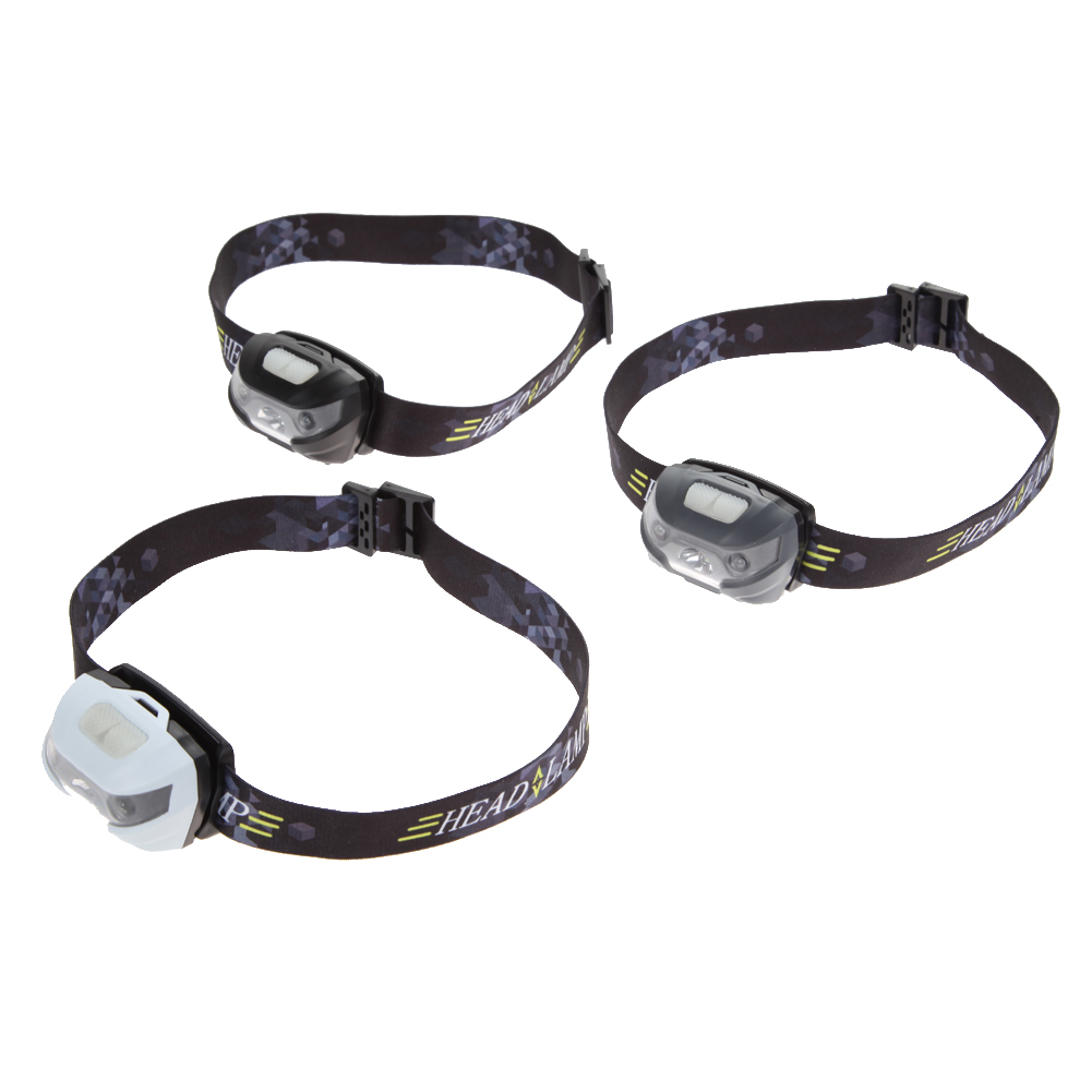 5 modes 3000LM Mini Q5 + 2 Red LED 3000LM Mini Headlamp Headlight Flashlight Torch Lamp ...