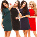 Fashion Women Bandage Bodycon Long Sleeve Evening Party Mini Dress