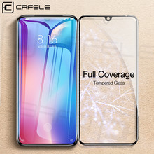 Cafele Tempered Glass for Xiaomi 9 Full Cover HD Clear Screen Protector for Xiaomi mi 9 Glass Lucent Tempered Glass(China)