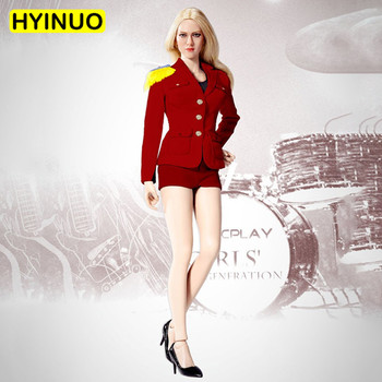 """3 Colors 1/6 Scale ATX-030 Women Sexy Dynamic Uniform Shorts Female Business Attire Clothing Set For12""""Action Figure Female Body"""